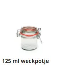 125 ml weckpotje