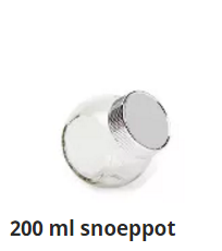 200 ml snoeppot