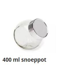 400 ml snoeppot