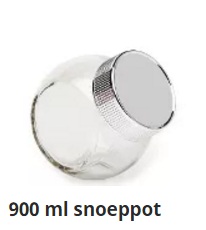 900 ml snoeppot