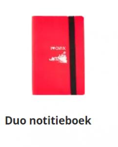 Duo notitieboek