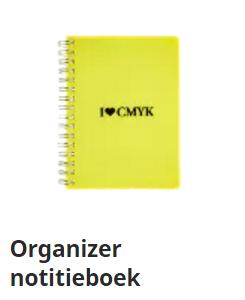 Organizer notitieboek